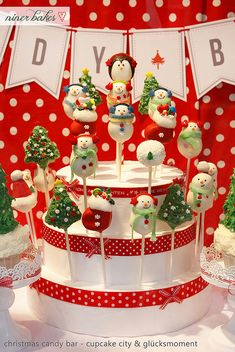 Christmas time has come: Christmas Candy Bar // Sweet Table 2012 | niner bakes