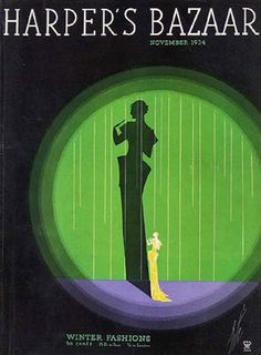 Erté - Illustration - Harper's Bazaar - 1934