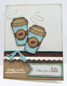 Creating with Christine: Treats of Friendship Cards!