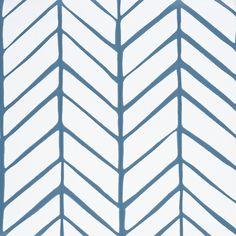Feather Wallpaper - Denim | Serena & Lily