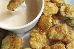 Fried Pickles & Spicy Ranch Sauce