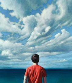 """Κωνσταντίνος Παπαγεωργίου: """" Όταν πιάνω τα πινέλα μου σφραγίζομαι στον μικρόκοσμό μου..."""" Clouds, Sea, Outdoor, Outdoors, The Ocean, Ocean, Outdoor Games, The Great Outdoors, Cloud"""