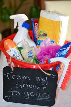 Baby Shower Prizes   Super Affordable And Cute From Dollar Tree. Bathroom  Essentials;