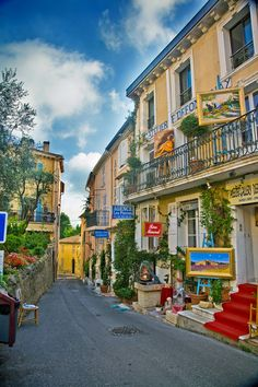 Lovely village of Mougins. Full of great museums and art galleries!