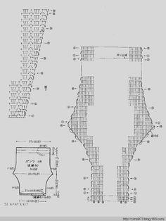 Gráfico - calça comprida