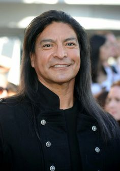 Gil Birmingham, American actor of Comanche ancestry.
