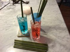 Hoy's Bamboo Drinking Straws Drink straws by HitherAndYonEstate