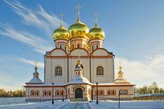 Иверский монастырь на Валдае-Великий Новгород