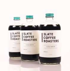 Product and Packaging: Slate Coffee Roasters on Behance