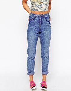 This is the NEW LOOK! EWWWWW! Highrise Mom Jean