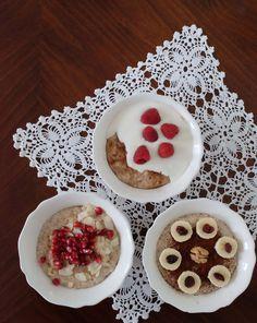 Voňavé raňajkové kaše rozdelené podľa času prípravy