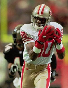 Jerry Rice - The greatest receiver ever to step onto a football field.