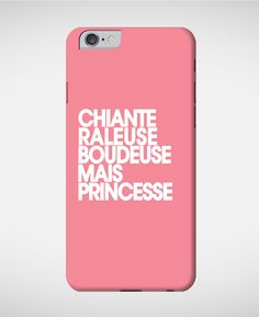 Coques smartphone Femme Princesse Rose chine by Madame T-SHIRT QUOTES
