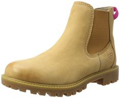 Tamaris Damen 25401 Chelsea Boots, Gelb (Corn), 36 EU Tam... http://amzn.to/2hW3BSP