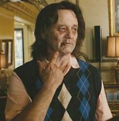 bill murry fake zombie