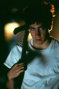 Donnie Darko! Yes he's a fictional character but he sacraficed himself for his love.