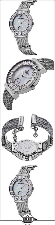 Charriol St-Tropez Women's 30mm Synthetic Sapphire Quartz Watch ST30SC.560.019  ✿ Relojes para mujer - (Lujo) ✿