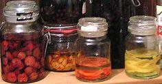 Kryddersnaps Urtesnaps Snapseurter Snapsefrugter - Opskrifter og recepter