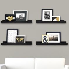 Lamphear Picture Frame Ledge
