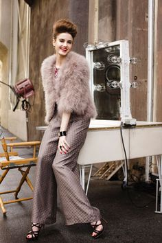 Our #trinaturk Hollywood HIlls Jacket + Flo Pants