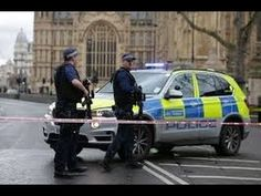 Parliament locked down after man mowed down pedestrians on Westminster Bridge and then stabbed an armed police officer to death inside gates of Parliament Khalid, Police, Westminster Bridge, Us Senate, British People, Media Bias, Latest World News, London Bridge