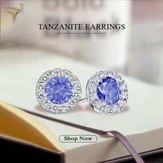 Get this stunning pair of tanzaniteEarings online at toptanzanite.com at best reasonable price.