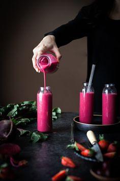 Cherry Berry Beet Smoothie - The Kitchen McCabe