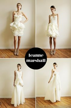 wedding dress by leanne marshall