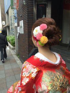 和装♡ヘアスタイル♡前撮り♡My Style