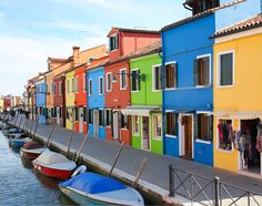 Colorful places | Beautiful places | Italy | Travel | Burano Island Venice