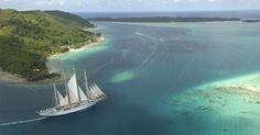 Star Flyer in Tahiti