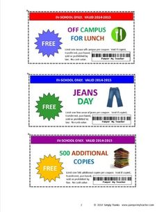 Brand new Teacher Coupon Booklet! This 32-page booklet features 24 different coupons for teachers. It is a great product for rewarding teachers and boosting teacher morale. Download, cut out and distribute to those hard-working, dedicated and deserving teachers.