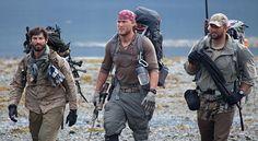 Jared Ogden (right), on National Geographic Channel's #UltimateSurvivalAlaska