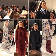 Dalla #newyorkfashionweek #nyfw la sfilata @victoriabeckham #victoriabeckham  via ELLE ITALIA MAGAZINE OFFICIAL INSTAGRAM - Fashion Campaigns  Haute Couture  Advertising  Editorial Photography  Magazine Cover Designs  Supermodels  Runway Models