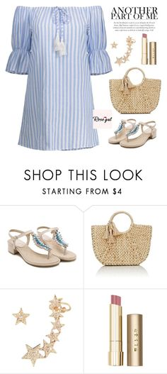 """""""ROSEGAL II / 22"""" by anja-jovanovich ❤ liked on Polyvore featuring Buji Baja and Stila"""