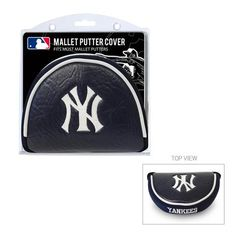 Team Golf New York Yankees Mallet Putter Cover - Golf Equipment, Collegiate Golf Products at Academy Sports Kansas City Royals, Yankees Gear, White Sox Baseball, Golf Putters, San Diego Padres, Golf Accessories, Chicago White Sox