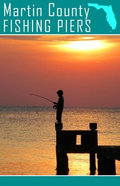 MARTIN COUNTY FISHING BRIDGES & PIERS - Martin County is a tropical oasis in southeast Florida. It has some of the best sport fishing in the world. Here are some great inland spots to fish - 1) Jensen Beach 2) Palm City 3)  Port Salerno 4) Hobe Sound 5) Stuart ♥ re-pinned by http://www.waterfront-properties.com/blog/fishable-saltwater-bridges-piers-in-martin-county.html