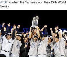 Go Yanks...miss those days!