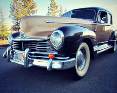 1947 Hudson Super Six on GovLiquidation. This classic car looks and runs great!