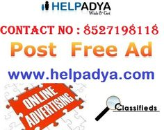 Post Free Ads in Delhi  For all advertising related services, look no further than Help Adya, a highly experiencedPost Free Ads in Delhiwhich offers an array of solutions, ranging from multiple categories in classified section to search engine feature and much more, at great prices! Also get advice from expert professionals on how laid ad posting can help your business attract more customers in the online realm! Get Post, Post Free Ads, Search Engine, Investing, Advertising, Things To Sell, Sri Lanka, Business, Portal
