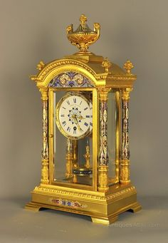 Anniversary Clocks USA Brass Double End Key For JUF Jahresuhrenfabrik 400 Day