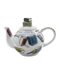 Look at this Novel 18-Oz. Teapot & Book Stack Lid on #zulily today!