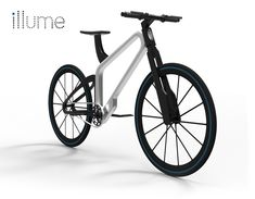 The illume is a bicycle that combines a simple bike design with advanced technology. To overcome the problems of riding at night, the design merges the indicator, brake and headlights into the frame in a way that it affords a safer ride. A lithium-ion battery and an actuator that transforms kinetic energy to electrical energy power the lighting system that is integrated into the frame.