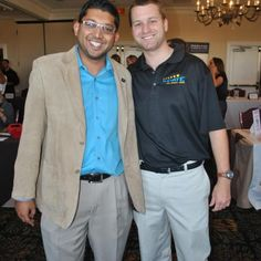 @pateltimes and Derek Sell at the Centre Club Expo #Tampa #tech