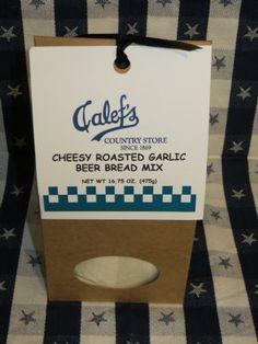 Calef's cheesy roasted garlic beer bread mix
