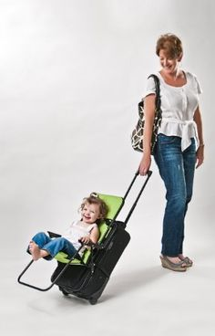 Amazon.com: Ride On Carry On Travel Child Seat Luggage Attachment: Baby