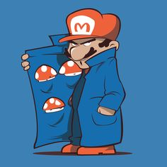 Mario by Alexandre Deviers