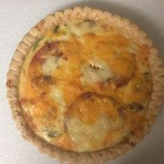 Loaded Vegetarian Quiche - Allrecipes.com
