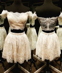 short homecoming dress,two-piece homecoming dress,homecoming dresses,homecoming dress