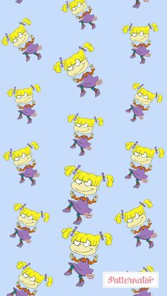 Rugrats Angelica Iphone Wallpaper Vsco, Cartoon Wallpaper Iphone, I Wallpaper, Disney Wallpaper, Pattern Wallpaper, Wallpaper Backgrounds, Rugrats Characters, Fictional Characters, Old Cartoon Network Shows